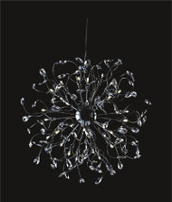 Spider crystal chandelier KL-41050-2424-C