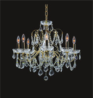 Victorian Crystal Chandeliers KL-41033-2623-G