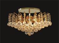 Sirius Collection Crystal Flush Mount KL-41040-1614-G