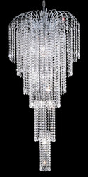 Waterfall crystal chandeliers KL-41043-2150-C