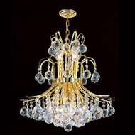 Contour Crystal Chandeliers KL-41038-19-G
