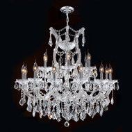 19 Light Maria Theresa Crystal Chandeliers KL-41039-30-C