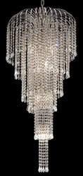 Waterfall crystal chandeliers KL-41043-1942-C