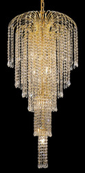 Waterfall crystal chandeliers KL-41043-1942-G