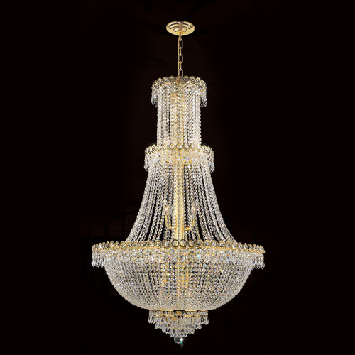 Empire Foyer crystal chandeliers KL-41037-30-G