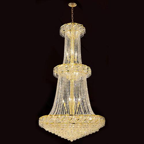 Cinderella Crystal Chandeliers KL-41041-3666-G