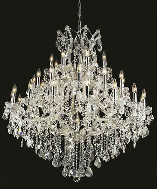37 Light Maria Theresa Crystal Chandelier 2800G44C
