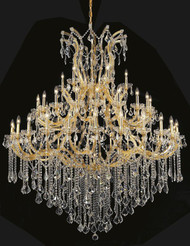 49 Light Maria Theresa crystal chandeliers KL-41039-6072-G