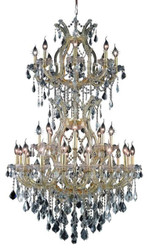 34 Light Maria Theresa crystal chandeliers KL-41039-3655-G
