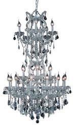 25 Light Maria Theresa crystal chandeliers KL-41039-3050-C