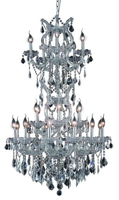 25 Light Maria Theresa crystal chandeliers KL-41039-3050-C