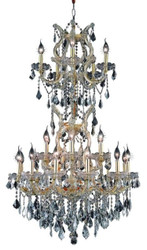 25 Light Maria Theresa crystal chandeliers KL-41039-3050-G