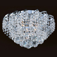 Cinderella Crystal Flush mount Light KL-41041-1610-C