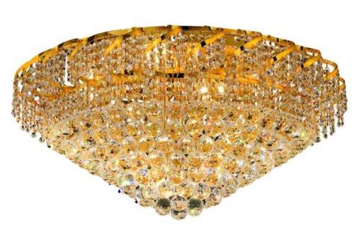 Cinderella Crystal Flush mount Light KL-41041-3016-G