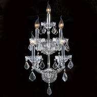 5 Light Maria Theresa Crystal Wall Sconce KL-41039-5-C