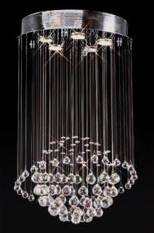 5 Light Planet Modern Pendant Crystal Chandeliers Kl