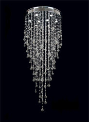 KL-6107 8 Light Crystal Chandeliers