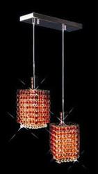 colored pendant crystal chandelier 20080sl2