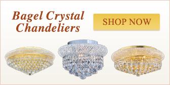 Bagel Crystal Chandeliers