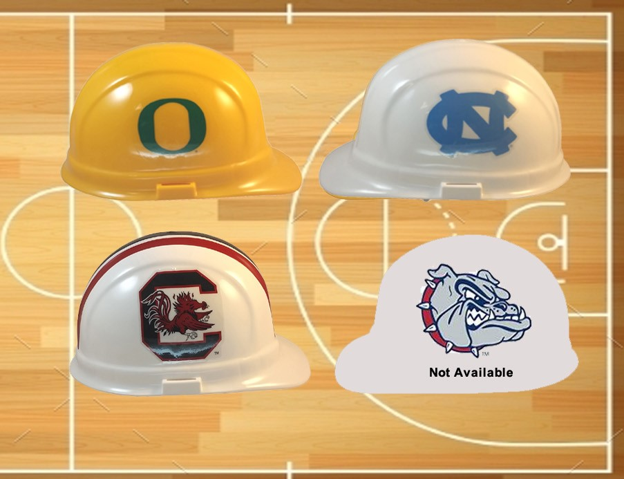 Final 4 Team Hard Hats