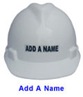 Add a Name to your new Pyramex Hat
