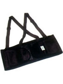 Economy Back Support With Straps Size Small # EB100-SM pic 2
