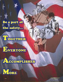 TEAM Safety Posters in ENGLISH  pic 1