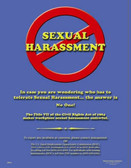 Do Not Commit Sexual Harassment Posters in ENGLISH  pic 1