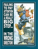 Pay Attention Safety Posters in ENGLISH  pic 1