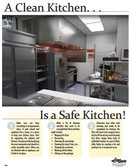 Clean Kitchen Posters in ENGLISH  pic 1