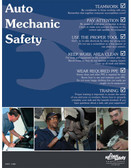 Auto Mechanic Safety Posters in ENGLISH  pic 1