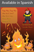 Fire Prevention Safety Poster in SPANISH  pic 1