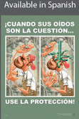 Eye Protection Safety Poster in SPANISH  pic 1