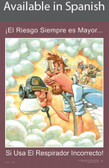 Respirator Safety Poster in SPANISH  pic 1