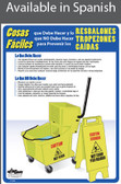 Slips, Trips & Falls Poster in SPANISH  pic 1