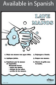 Hand Washing Poster in SPANISH  pic 1