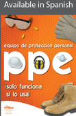 PPE Safety Poster in SPANISH  pic 1