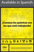 Know Your Chemicals Poster in SPANISH  pic 1
