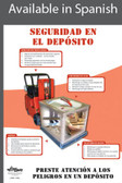 Warehouse Safety Poster in SPANISH  pic 1