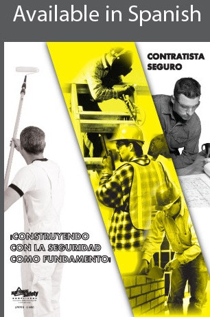 Contractor Safety Poster in SPANISH  pic 1