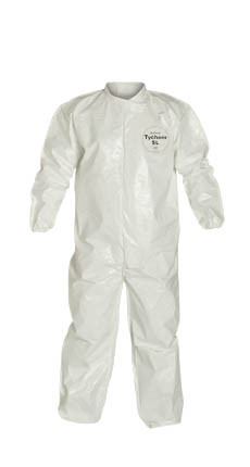 Tyvek Saranex SL Coverall w/ Elastic Wrists, Ankles   pic 4