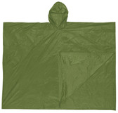 MCR Schooner Rain Poncho, 10 mil thickness, Green   pic 1