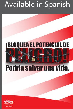 Lockout, Potential Danger Poster in SPANISH  pic 1