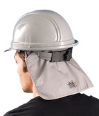 Deluxe Flame Retardant (FR) GreyHard Hat Pad pic 1