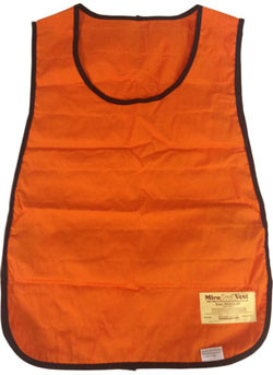 Miracool Cooling Vests Orange Color   pic 2