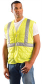 Occunomix Class II Cooling Vests, Lime w/ Silver Stripes  pic 1