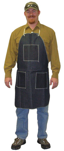 Denim Aprons 1 Chest Pocket & 2 Hip Pockets 28 x 36 in   pic 1