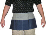 Denim Aprons 2 Pocket Carpenters Apron, 12 x 24 inch   pic 1