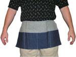 Denim Aprons 2 Pocket Carpenters Apron, 12 x 24 inch   pic 1