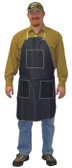 Blue Denim Apron, 1 Chest Pocket & 2 Hip Pockets SINGLE  pic 1